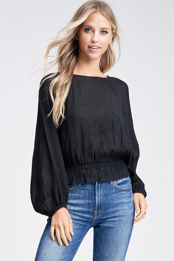 Beauty Top (Black)-Large