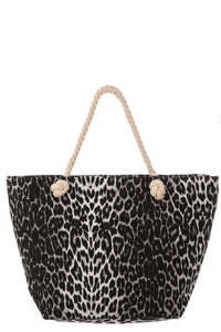 Cheetah Beach Bag