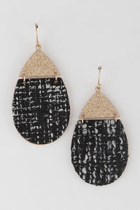 Sweater Earrings (Black)