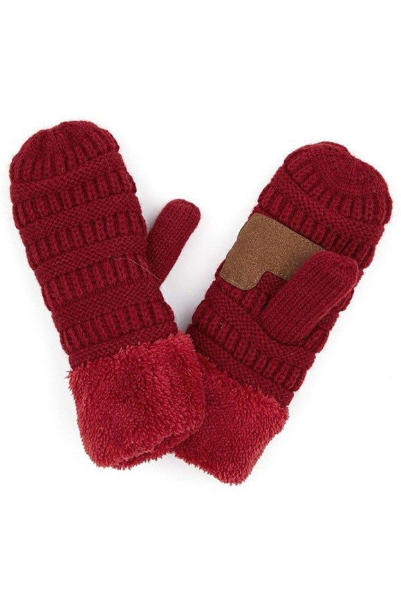 CC Gloves (Burgundy)