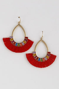 Party Of Red Earrings