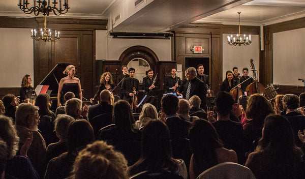 CreArtBox collaborates with the Arte String Quartet to present a program based around Bach's Brandenburg Concerto No. 5 at Renee Weiler Concert Hall (West Village).