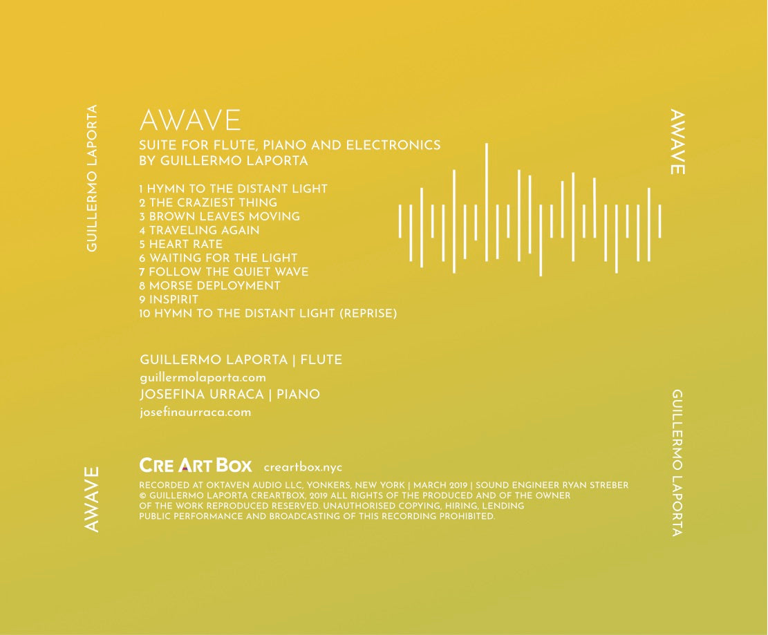 AWAVE CD - Limited Edition