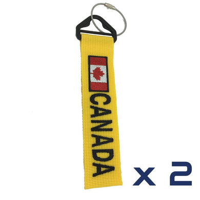 Canada Luggage Tag x2 - BigTags.  Tag It's your!