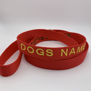 Dog Leash - BigTags.  Tag It's your!