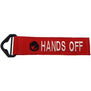 HANDS OFF - RED
