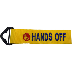 HANDS OFF - YELLOW