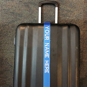 Personalized Luggage Strap - BigTags.  Tag It's your!