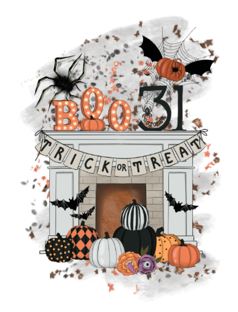 Boo Fireplace PNG