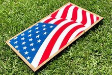 Load image into Gallery viewer, American Flag Wood Sign