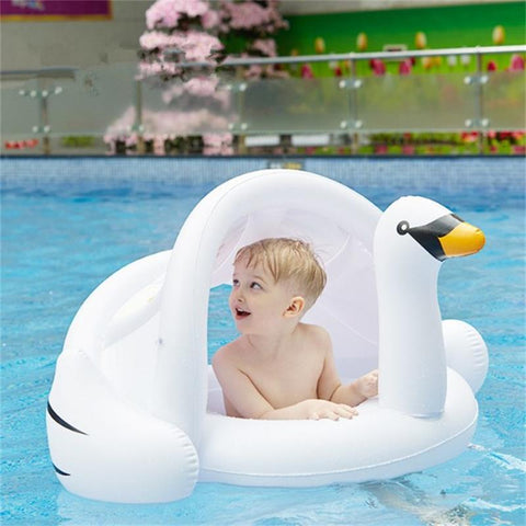 SUMMER time Flamingo / Swan Pool Float for Toddlers