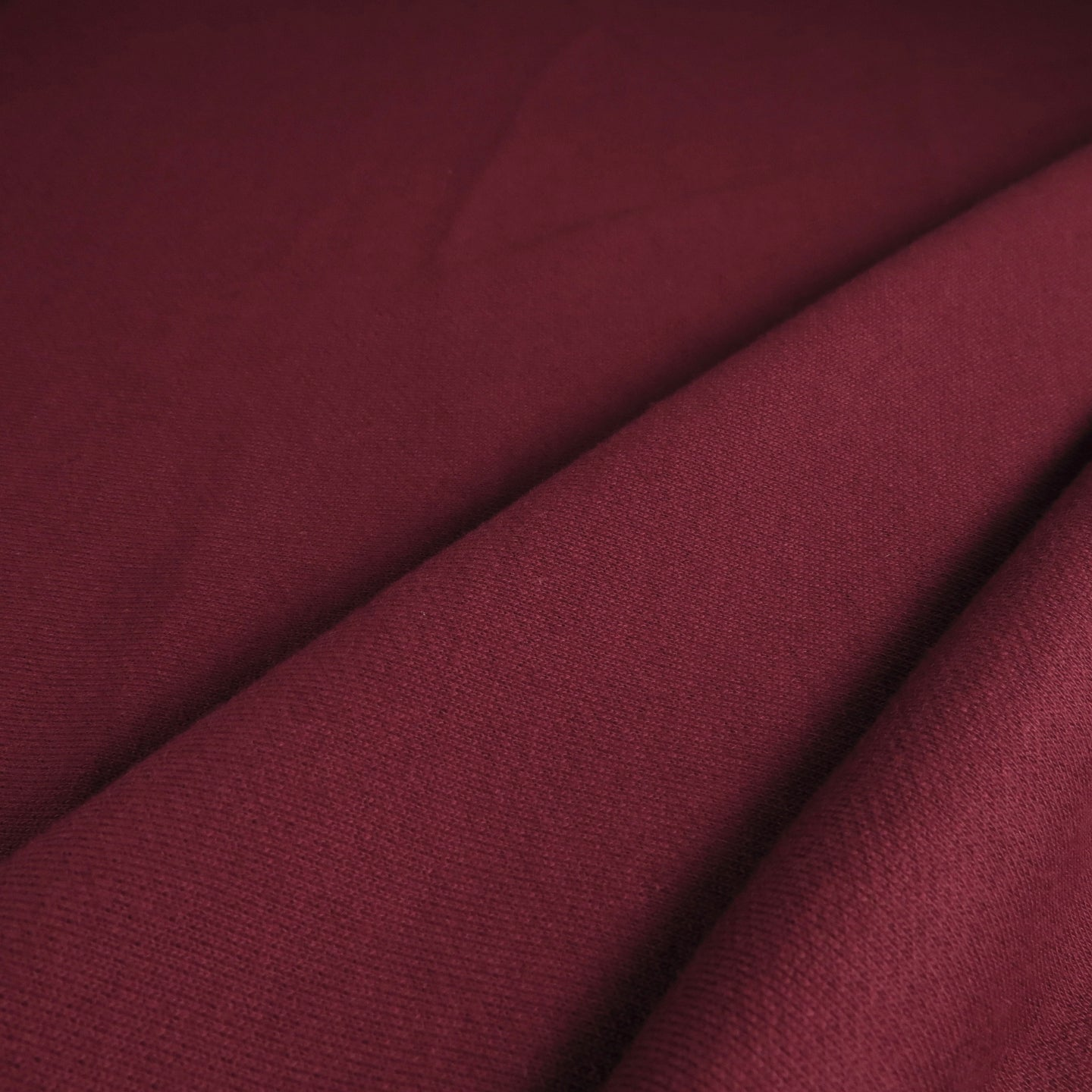 French terry 320gsm - Ox blood 0.5m