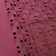 Load image into Gallery viewer, Broderie Anglaise - 'Maxine' in Raspberry Rouge 0.5m