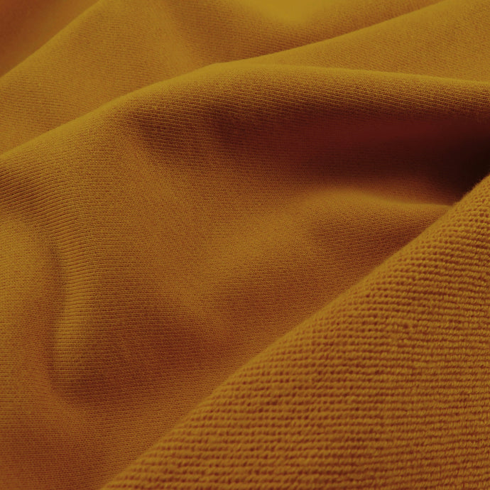 French terry 320gsm - Saffron 0.5m