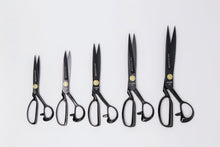 Load image into Gallery viewer, LDH Scissors - RIGHT HANDED Midnight Edition Fabric Shears 10""