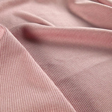 Load image into Gallery viewer, Rayon rib knit - Soft pink 0.5m