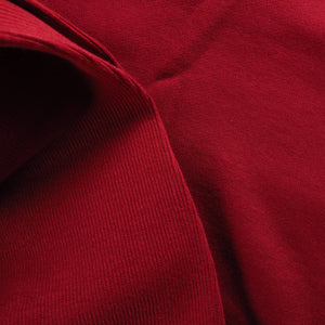 Cotton ribbing - Ox blood 0.25m