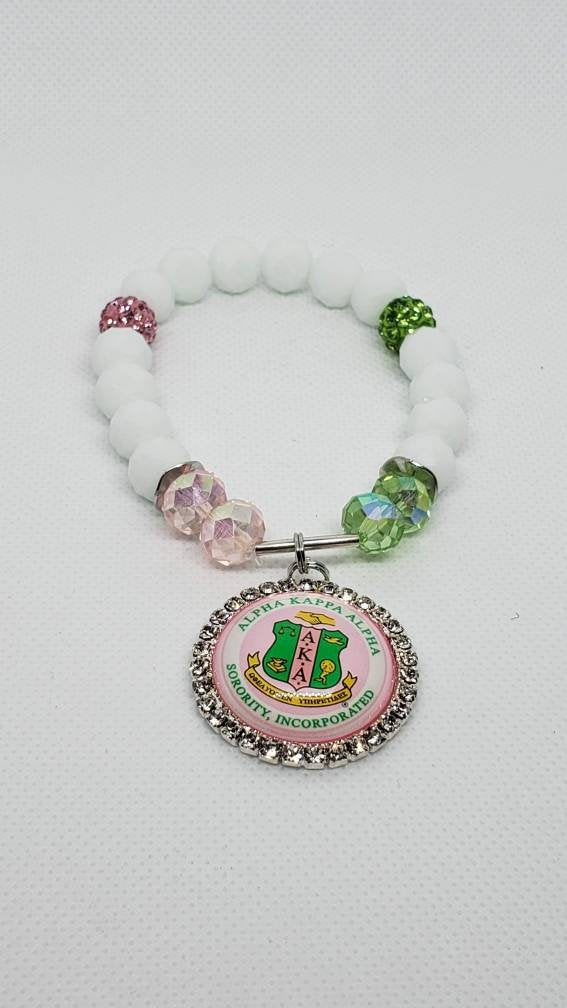 Pink and Green AKA Bracelet