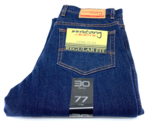 Mustang  JEAN REGULAR FIT STRETCH 5 PKT BASIC - SHORT LENGTH - 4 COLOUR OPTIONS