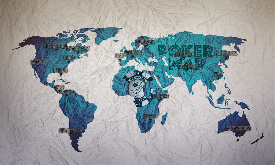 World Map PokerPaint Edition #1