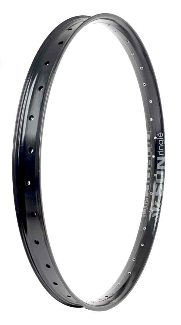 "Düroc 50 27.5"" Rim, 28-Hole, Black / Stealth"