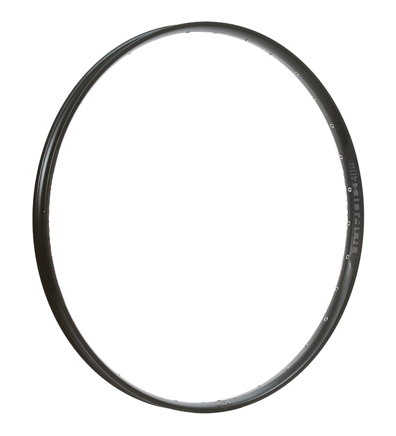 "Düroc 40 27.5"" Rim, 28-Hole, Black / Stealth"