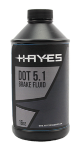 Dot 5.1 Brake Fluid, 16 OZ
