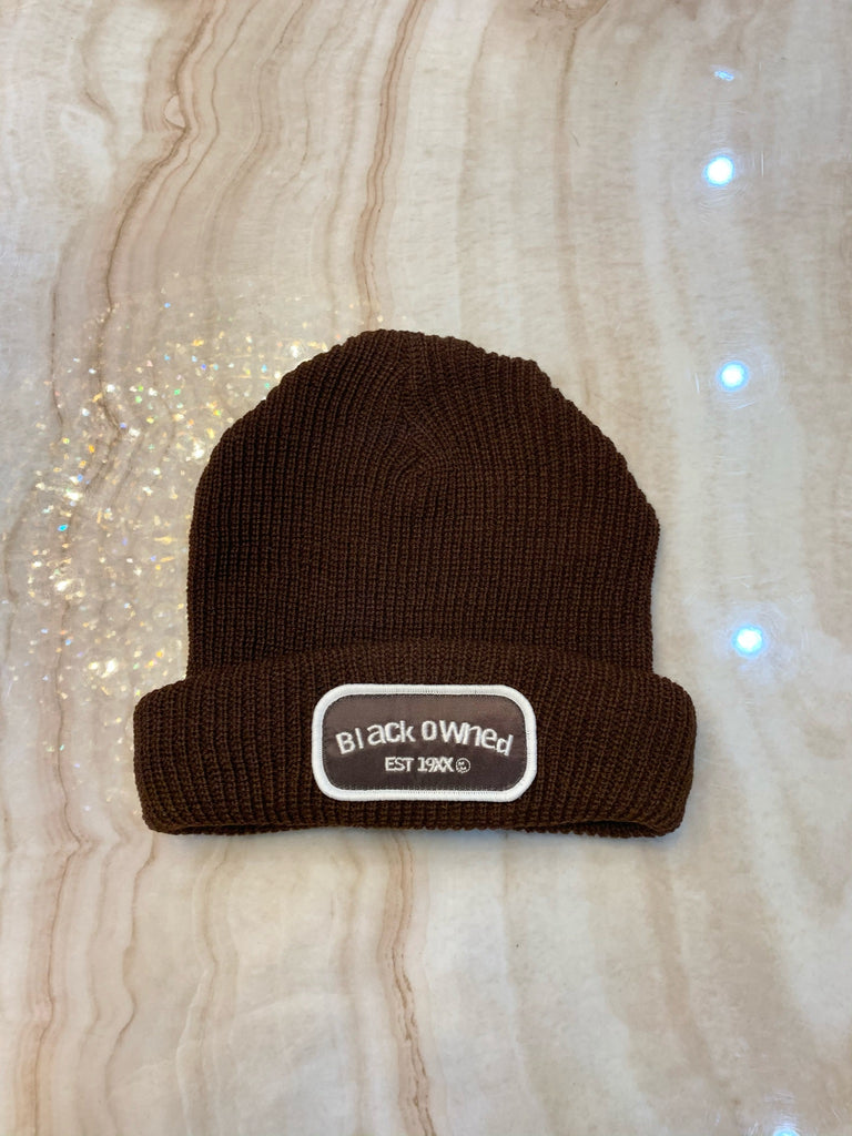 Chocolate Mechanic Beanie