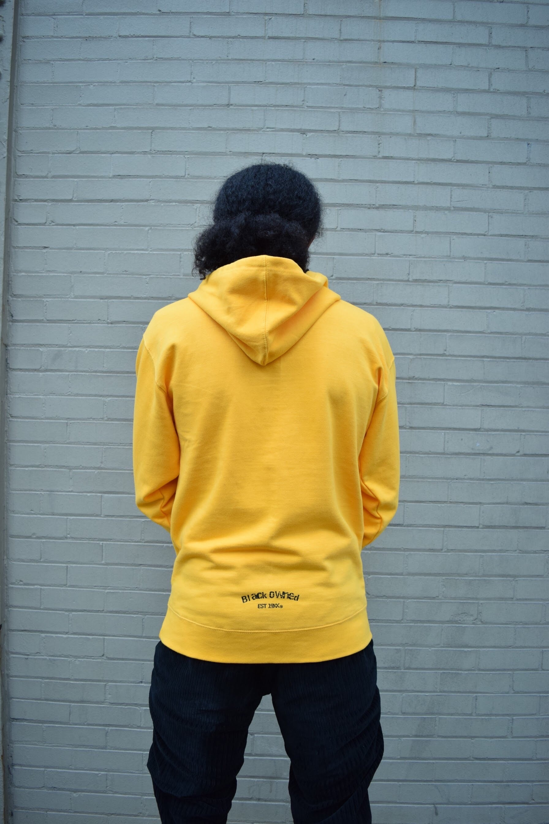 Vintage Panther Pullover Hoody (Yellow/Gold)