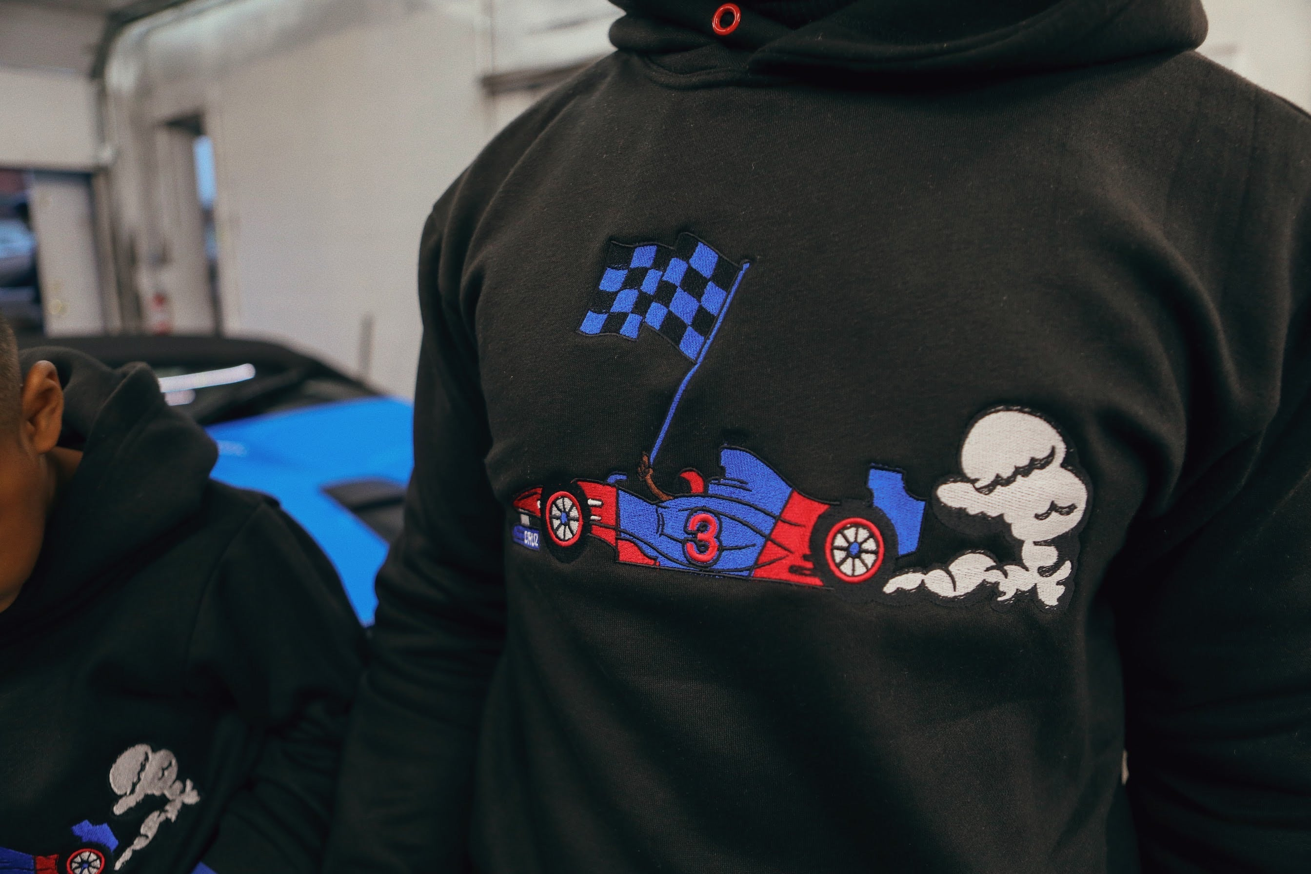 'Cruz Capsule' Fleece #3 Racer Pullover Hoody (Mens)