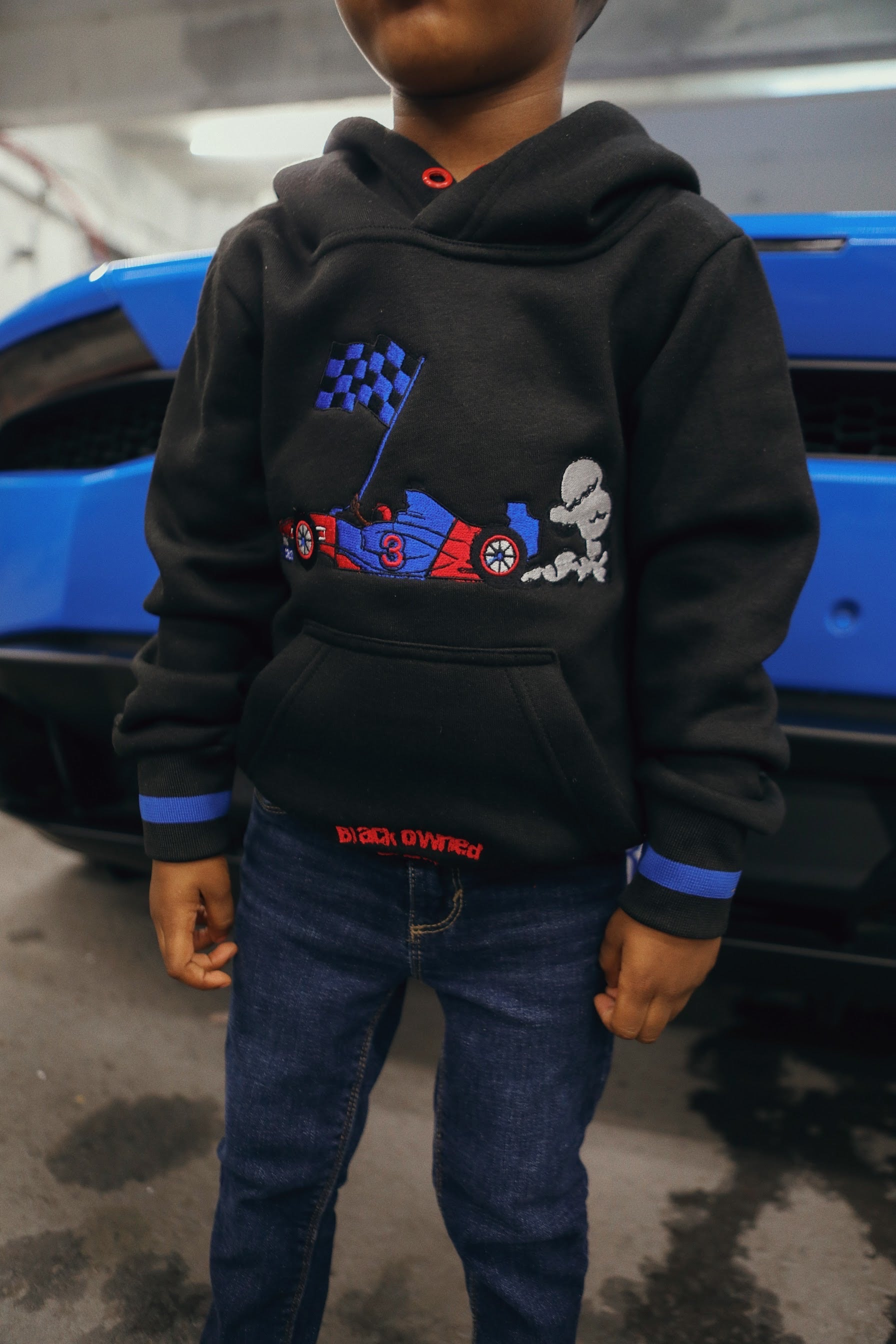 'Cruz Capsule' Fleece #3 Racer Pullover Hoody (Boys)