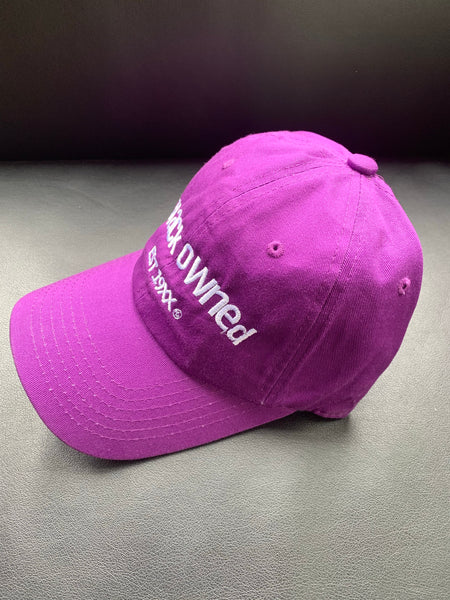 Original Purple Dad Cap