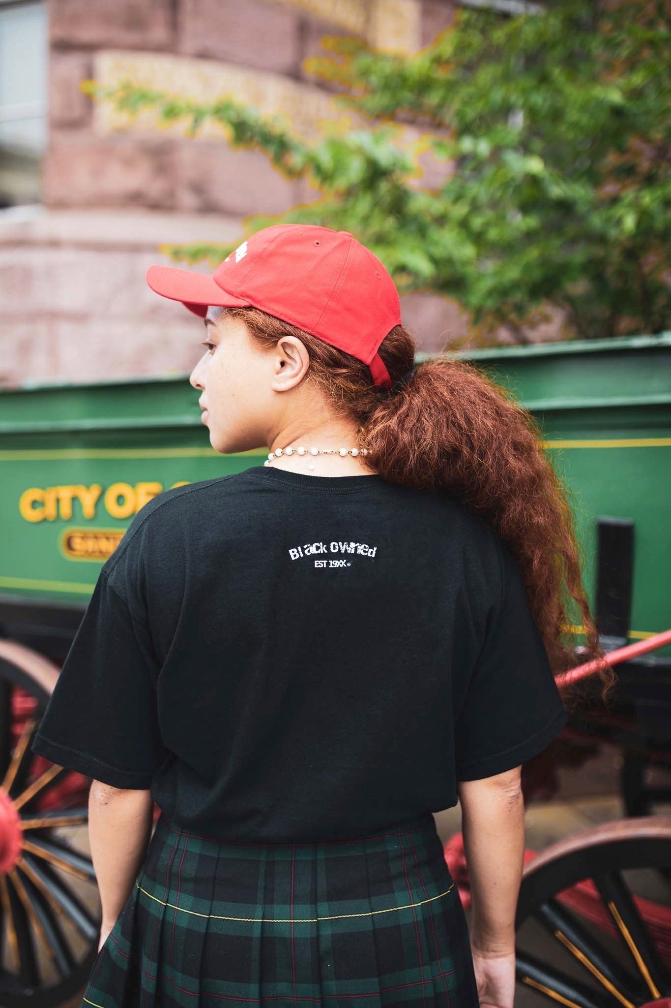 Our Community Embroidery Tee (BlaCk)