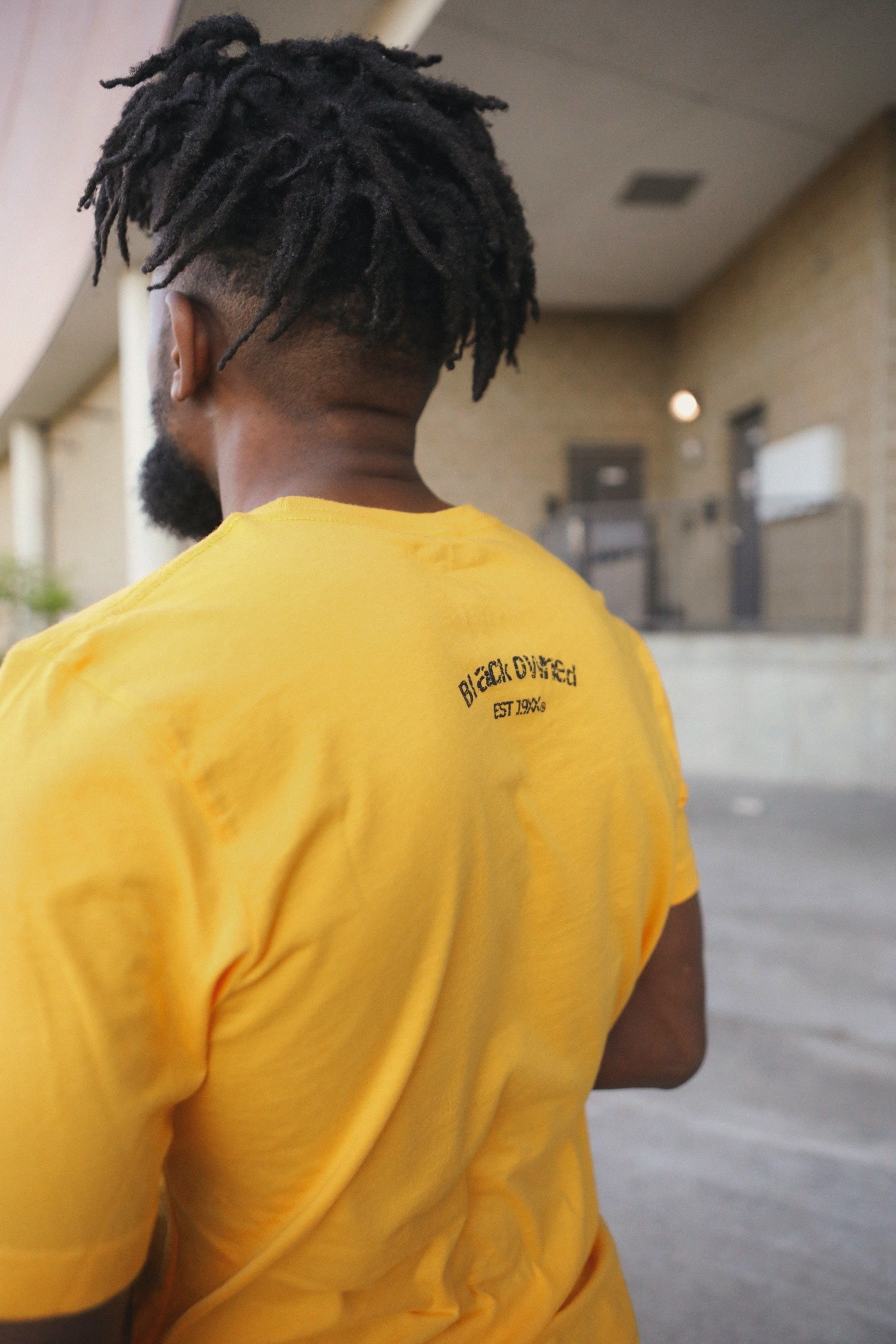 Vintage Panther Crew Tee (Yellow)
