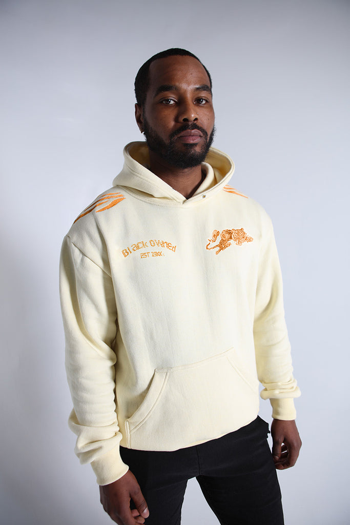 SDCE Embroidery Heavy Fleece Pullover Hoody (Cream)