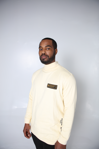 SDCE Game Day Turtle Neck (Cream)
