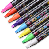 Dry Erase Markers for Blackboard Whiteboard 7mm 8Pcs
