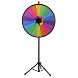 Crystal Spin Wheel with Tripod Stand