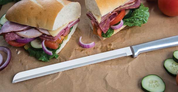 Bread Knife, 10