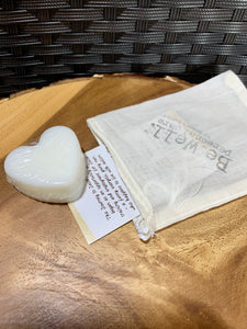 Mini Lotion Bar HEART Shape VALENTINE'S Lavender Palmarosa