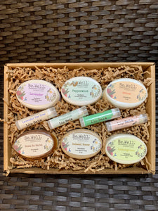 Soap and Lip Balm - Full Set Gift Box