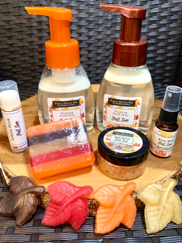 FALL SUN Line - Bar Soap Scrub Lotion Stick Spray Liquid Soap