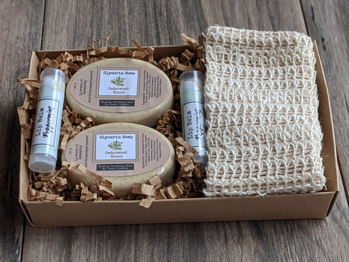 Soap Lip Balm Gift Pack MEDIUM - Paraben/Sulfate Soap and Lip Balm