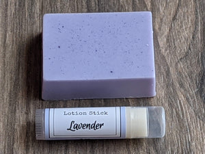 Large Soap Bar Mini Lotion Stick Gift Pack