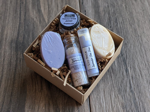 Travel Personal Gift Box Soap Lip Balm Mini Bath Salt