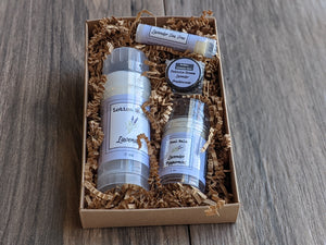 Spa Gift Pack - Lotion Stick Heel Balm Cuticle Cream Lip Balm