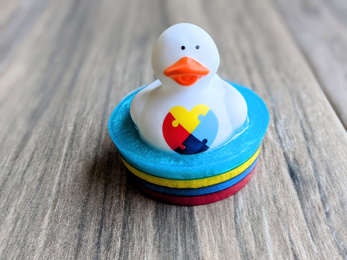 Autism Awareness DUCK Soap