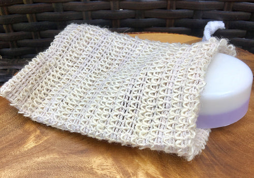 Sisal Soap Pouch Bag Exfoliating
