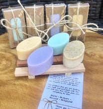 Load image into Gallery viewer, TRAVEL GUEST Mini Soap Lavender Lemongrass Mint Oatmeal Citrus Cedarwood Rosemary