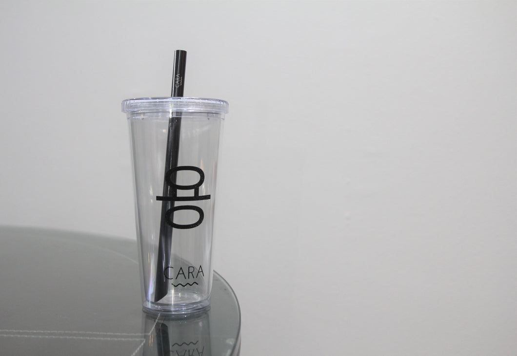 Personalized CARA Boba (Bubble Tea) Tumbler